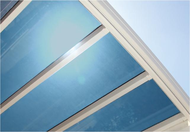 Bild von Glasdach Sky Light