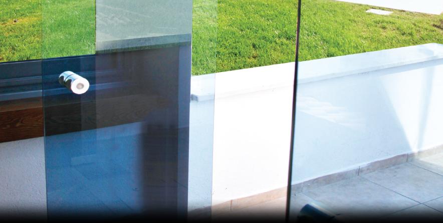 Bild von Glastür