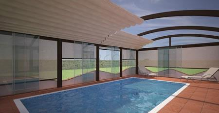 Bild für Kategorie Poolüberdachung